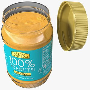 Crazy Richards Natural Creamy Peanut Butter model
