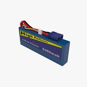 HQ Lithium Polymer Battery model