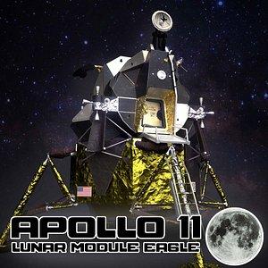 lunar module apollo 11 3D