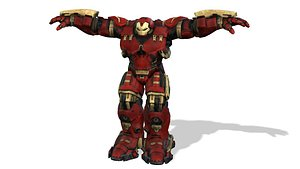 Ironman Hulkbuster 3D model