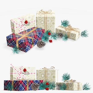 gift decoration christmas 3D model