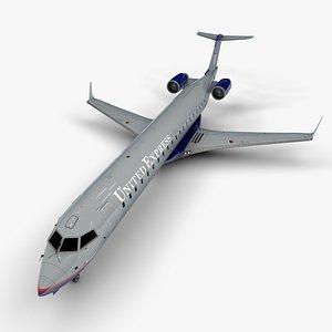 3D model bombardier crj express