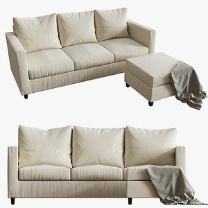 3d adam sofa model