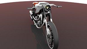 3D model 3D Chopper - Sport Cruiser