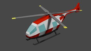 3D Lowpoly Helicopter