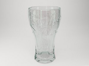 3D glass sprite model