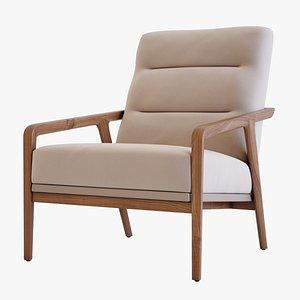 3D model Lars Chair