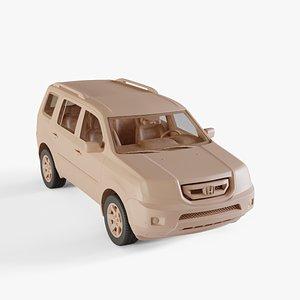 2010 Honda Pilot 3D model