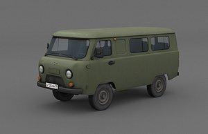 UAZ 2206 Bukhanka model