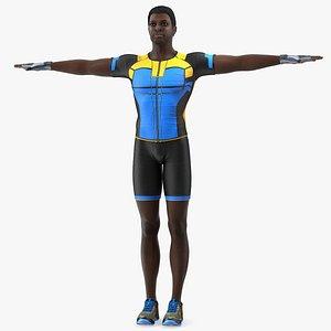 american sportsman t pose 3D