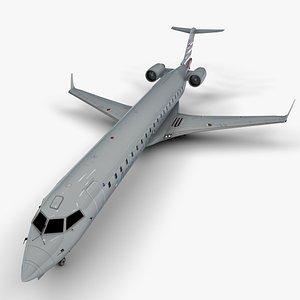 3D model bombardier crj american