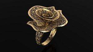 gold 3D model