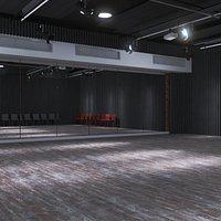 Dance Studio Interior