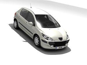3D Peugeot 307 2006 Confort