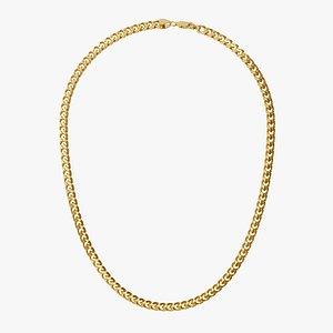 Chain Necklace BR007-1.8 3D model