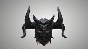 helmet armor 3D model