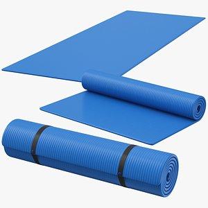 Yoga Mat Set 01 model