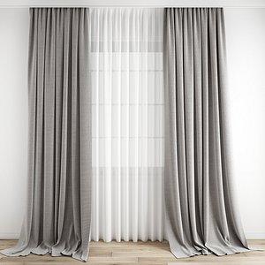 3D Curtain171