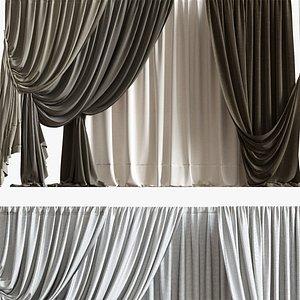 3d model curtain 06