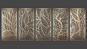 decorative panel 3D model