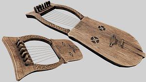 lyre - kravik pbr model