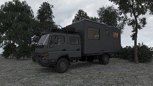 3D road camper