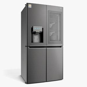 3D modern refrigerator