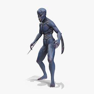 Alien Assassin 3D model