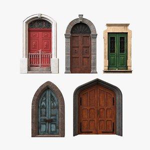3D Exterior Door Collection V1 model