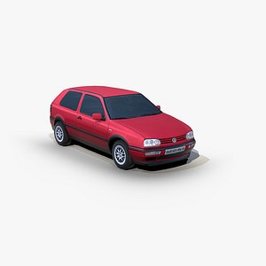 Volkswagen Golf 3door 1991 model