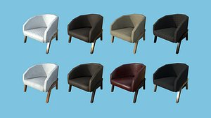 Armchairs 02 Collection - Furniture Interior Design 3D model