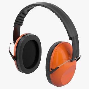 Ear Defenders 3D model