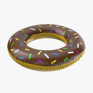 Donut Inflatable Ring 02 3D model