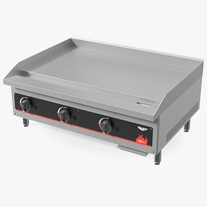 Vollrath 40721 Cayenne 36 Flat Top Gas Countertop Griddle 3D model