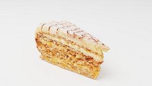 3D Hungarian cake Esterhazy torta