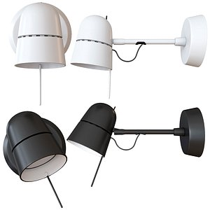 3D wall lamp counterbalance spot