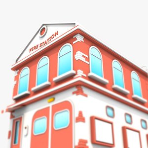 Fire Station 3D