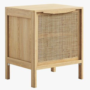 3D Florence Nightstand