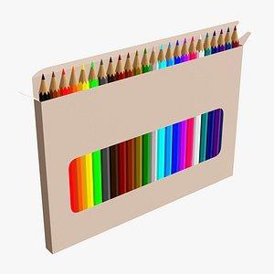 3D window pencil box