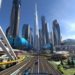 FutureCity Next 3D model