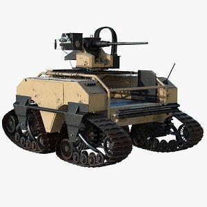 3D Army Mutt 600 model