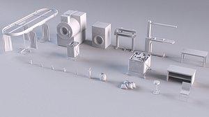 cleaner store dryer drying model