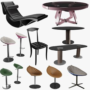 Fasem International Furniture Pack 3D model