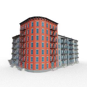 3D city appartment