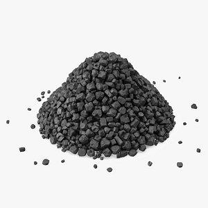 Anthracite Coal Heap model