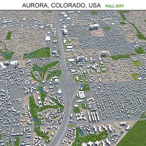 Aurora Colorado USA 3D model
