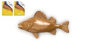 3D relief art fish