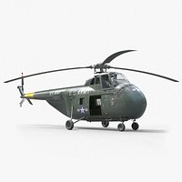 Sikorsky H-19  Chickasaw Helicopter PBR