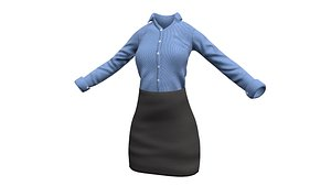 Women'S Business outfit model