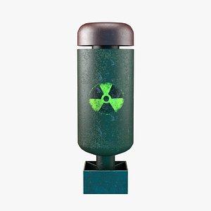 3D model nuclear bomb